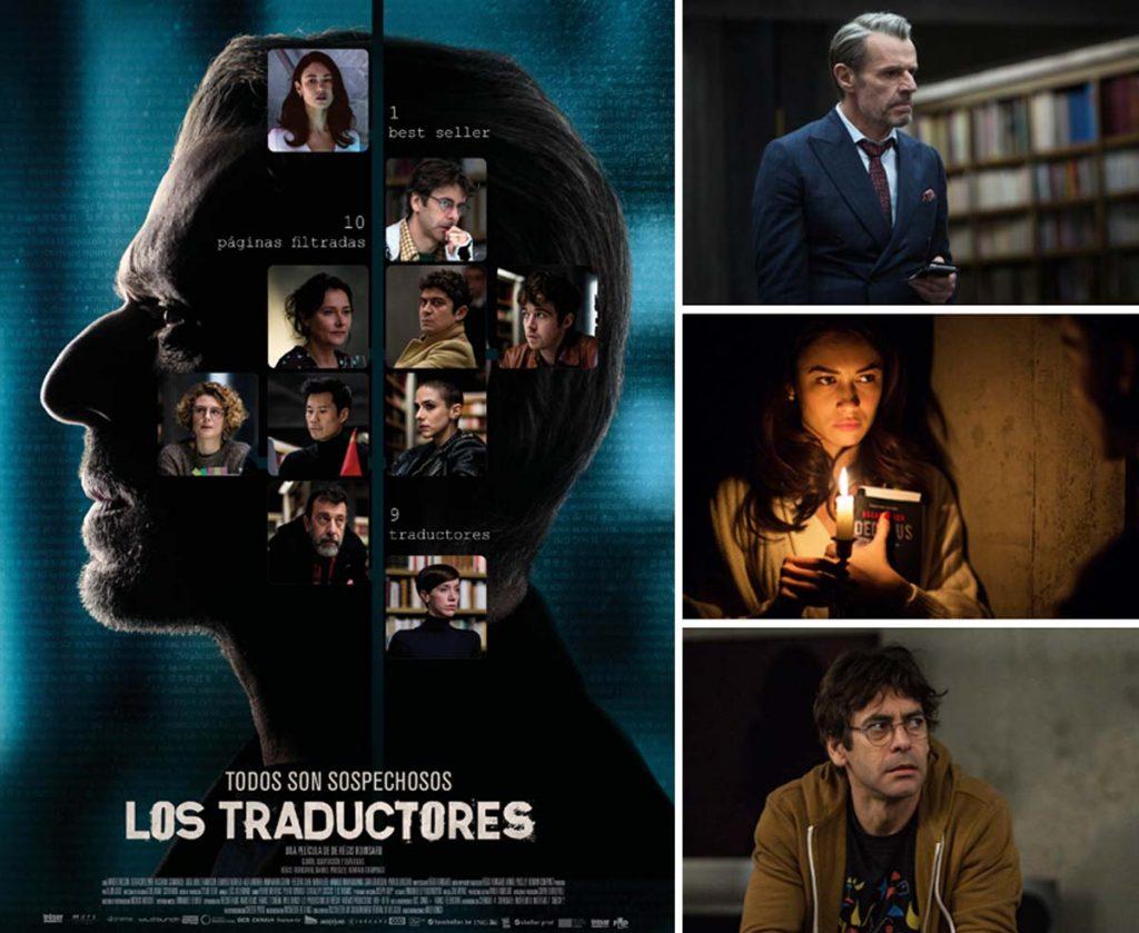 """Imágenes y cartel de la película """"Los traductores"""""""