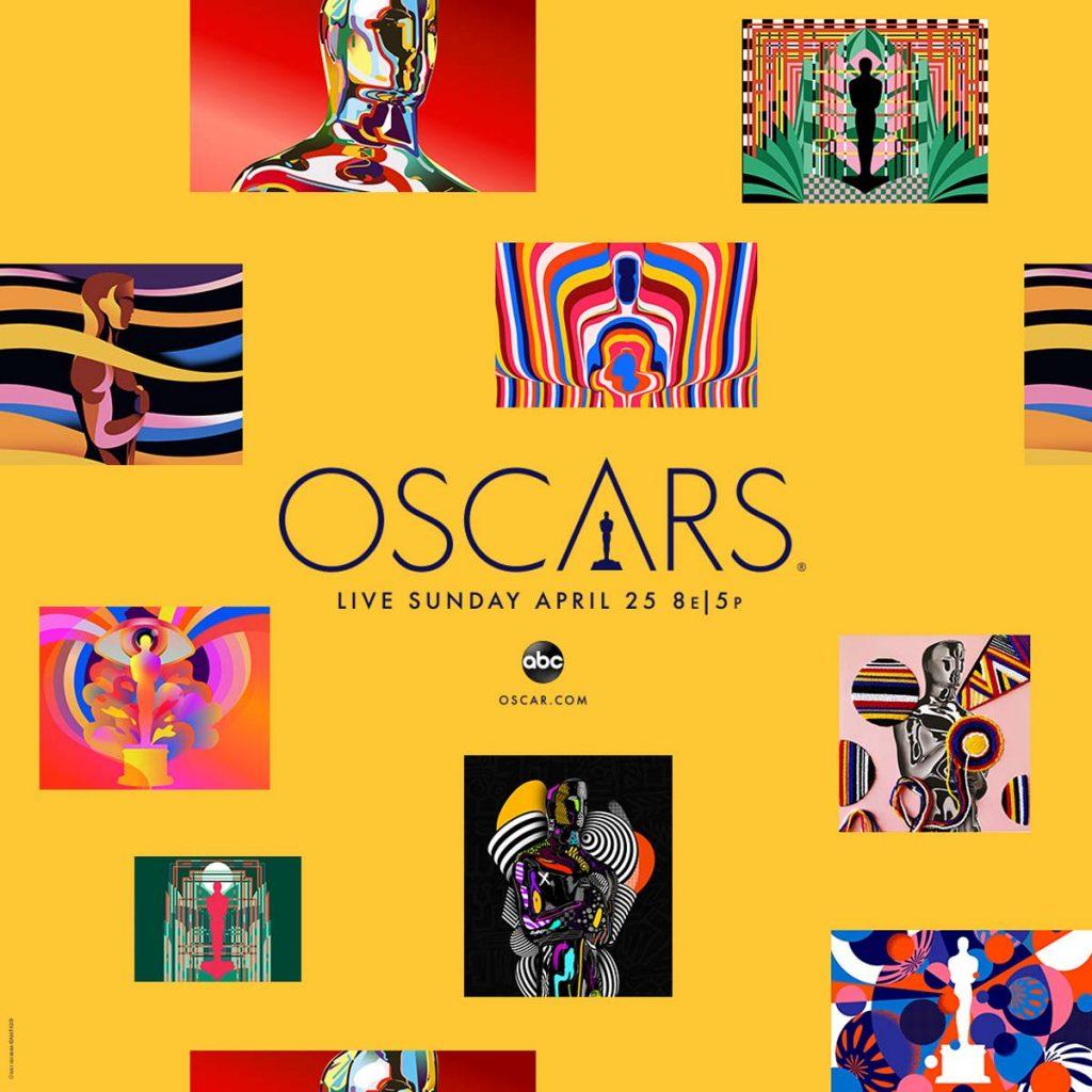 Imagen promocional de los Oscars 2021
