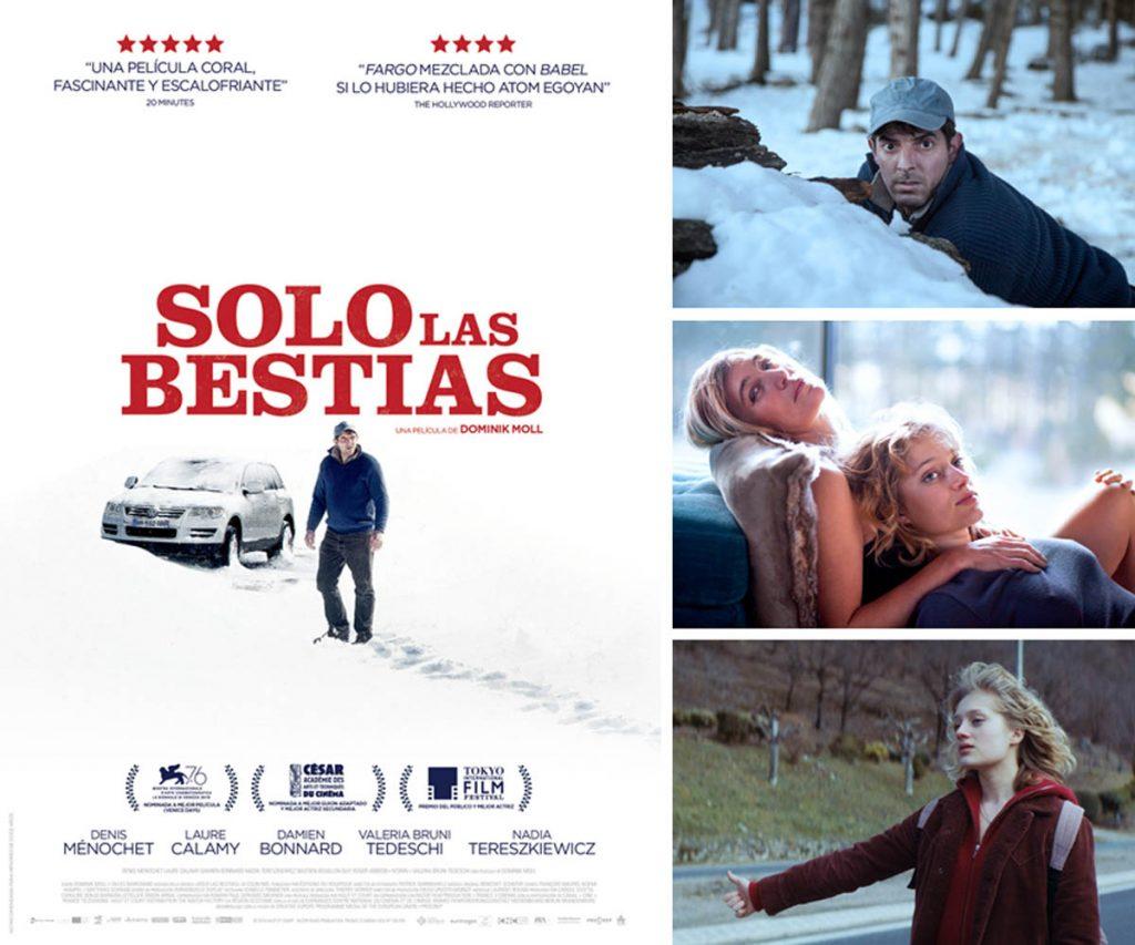 """Imágenes y cartel de la película """"Solo las bestias"""""""