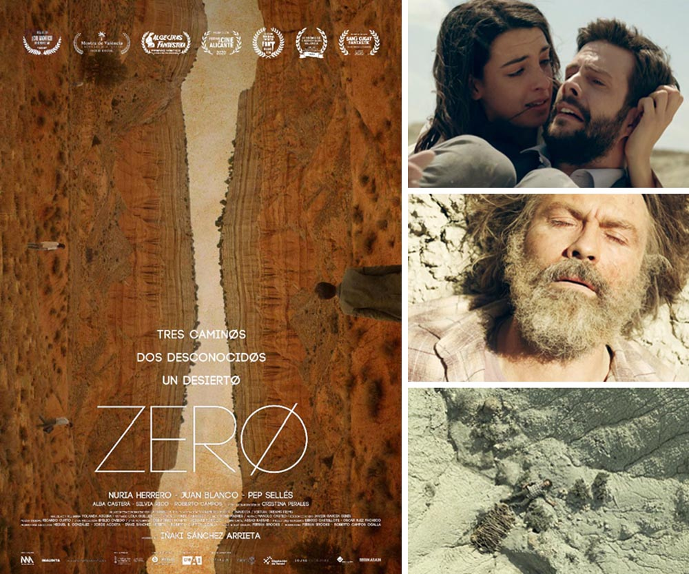 Imágenes y cartel de la película ZERØ