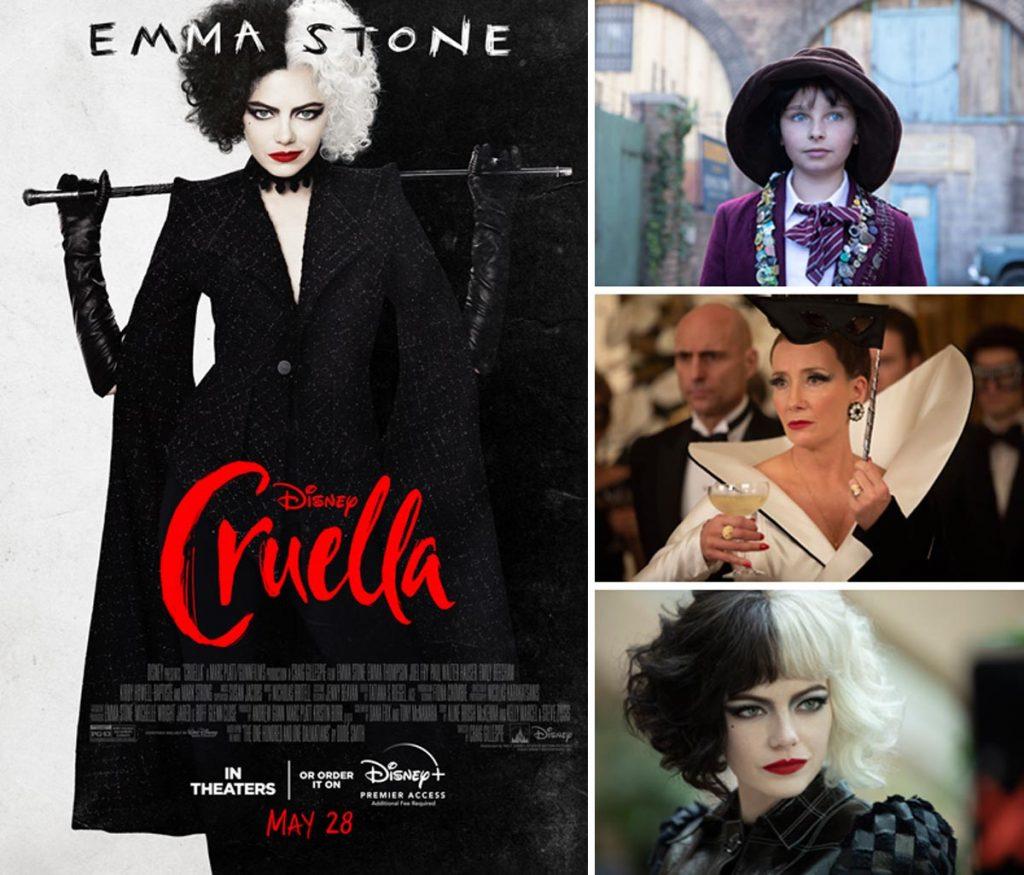Imágenes y cartel de la película Cruella