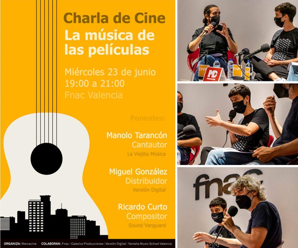Mercacine - Charla de Cine - La música de las películas