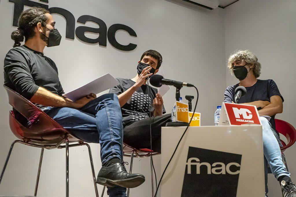 Miguel González, Ricardo Curto y Manolo Tarancón