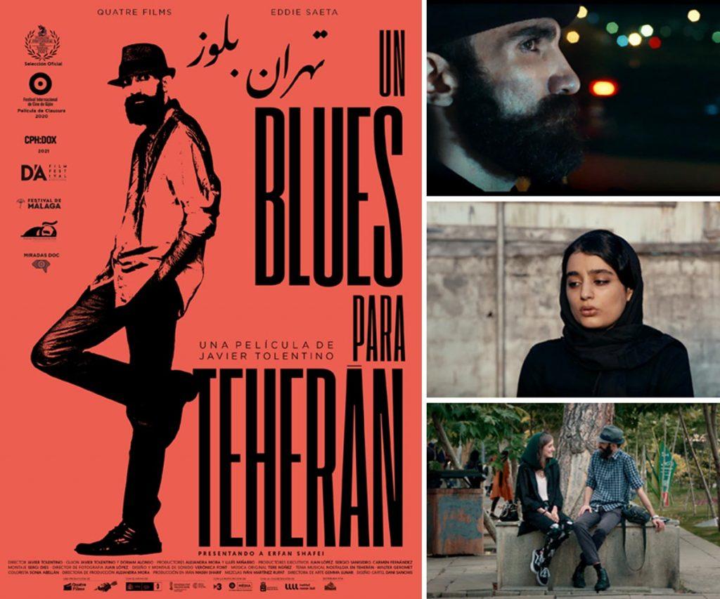 Imágenes y cartel de Un Blues Para Teherán